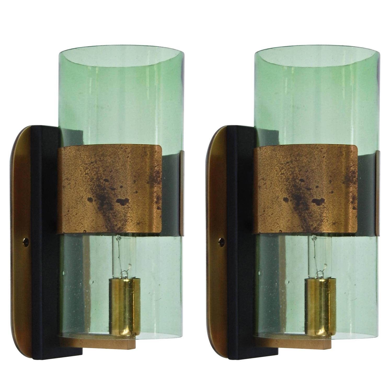 Denis Casey Sconces from Italy at 1stdibs