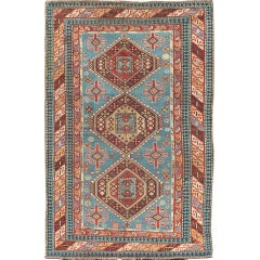 Antique Caucasian Shirvan Rug with