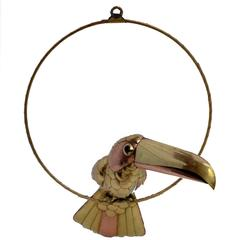 Brass and Copper Toucan