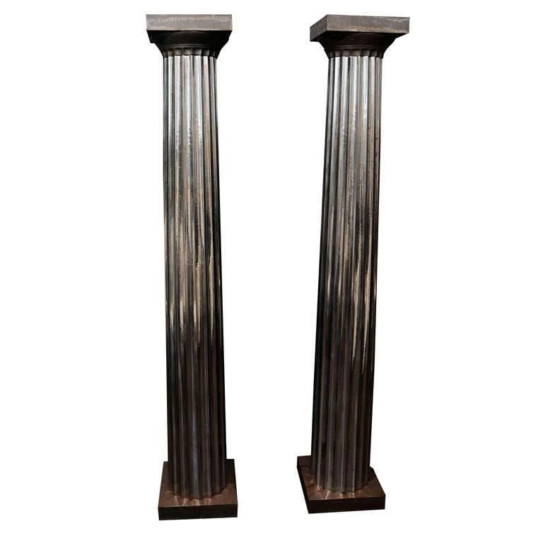 Cast Iron Columns : S cast iron and tin columns for sale at stdibs