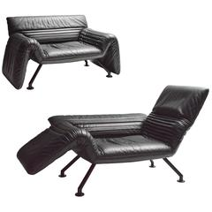 Pair of Modular De Sede Lounge Chairs