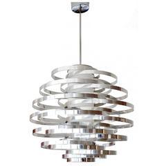Sciolari Max Sauze Chandelier Modern Ceiling Lamp Italian Design 60s 70s