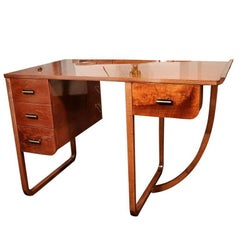 American Art Deco Desk Attributed to Gilbert Rohde for Kohler