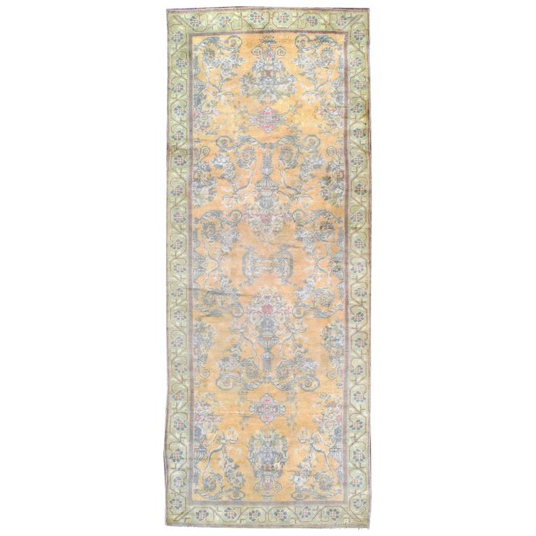 Rugs Made In India For Sale: Antique Indian Cotton Agra Rug For Sale At 1stdibs