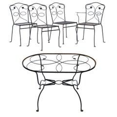 Woodard Dining Set