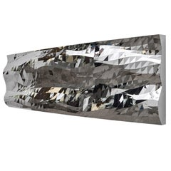 Mashing Mesh Object #MS-1 Stainless Steel Wall Mirror Decoration Sculpture
