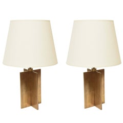 Pair of Jean-Michel Frank Table Lamps