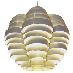 "Large ""Tornado"" Ceiling Light by Elio Martinelli"