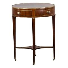 Side Table Mahogany Gustavian Period Sweden
