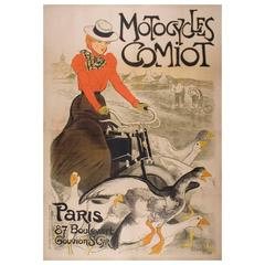 Large French Turn of the Century Poster by Théophile Steinlen, 1899