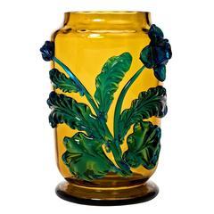 Stunning Moser Art Nouveau Vase