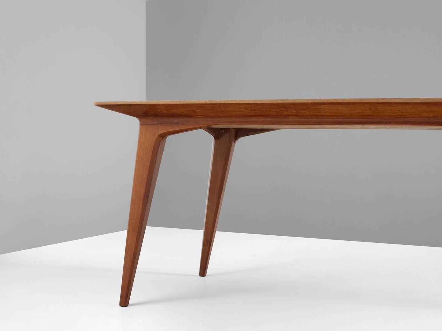 Rectangular Dining Table in Teak For Sale at 1stdibs : 4208item41974z from www.1stdibs.com size 1500 x 1125 jpeg 42kB