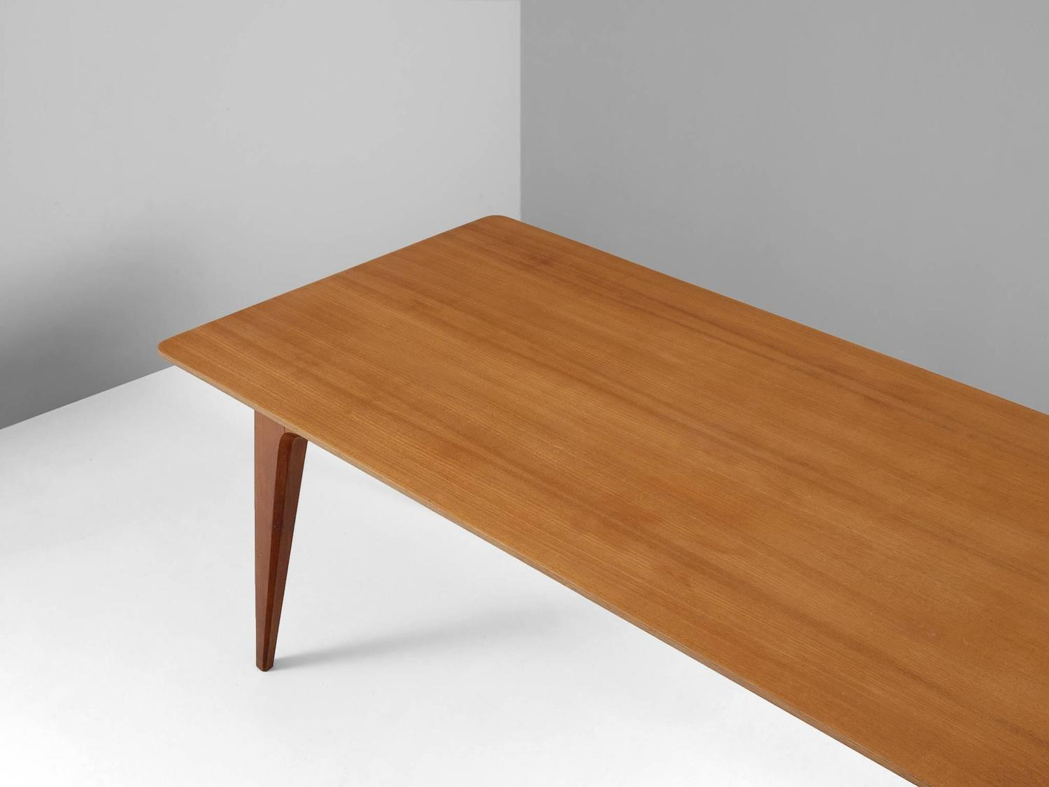 Rectangular Dining Table in Teak For Sale at 1stdibs : 4208item41975z from www.1stdibs.com size 1500 x 1125 jpeg 71kB