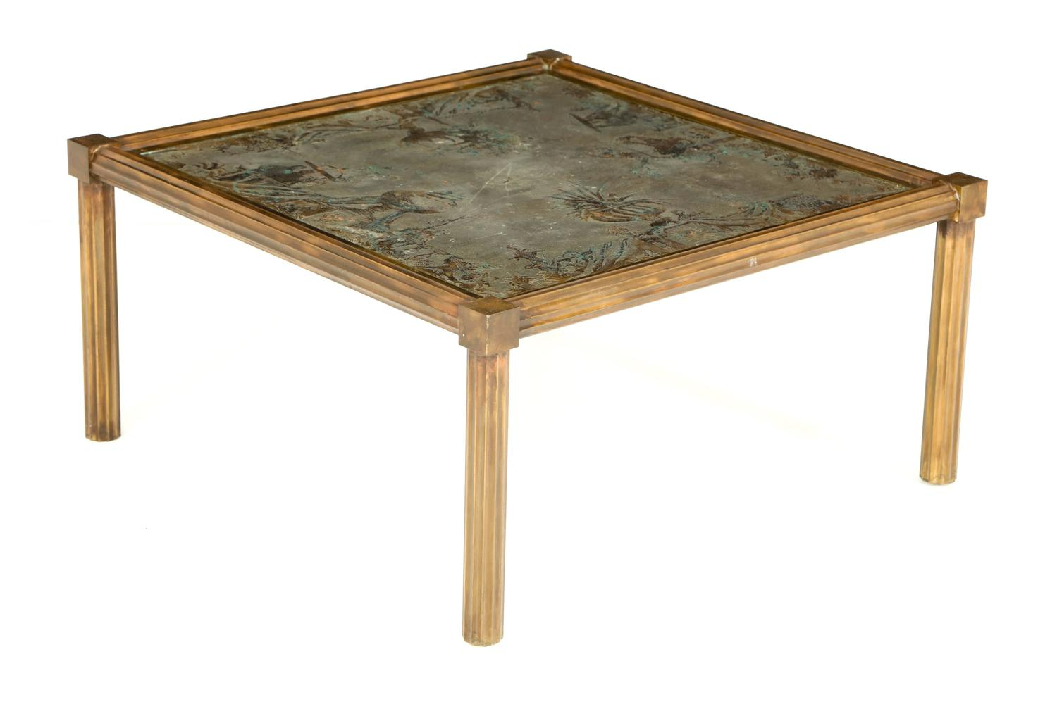 Unique Urn Motif Laverne Coffee Table For Sale At 1stdibs