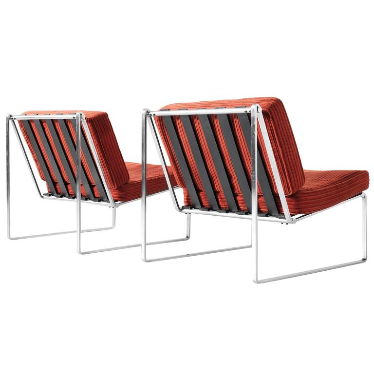 Kho Liang Ie Pair Of Lounge Chairs For Artifort For Sale