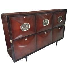 Osvaldo Borsani Italian Cabinet Buffet, Italy, 1950s Italian luxury Vintage