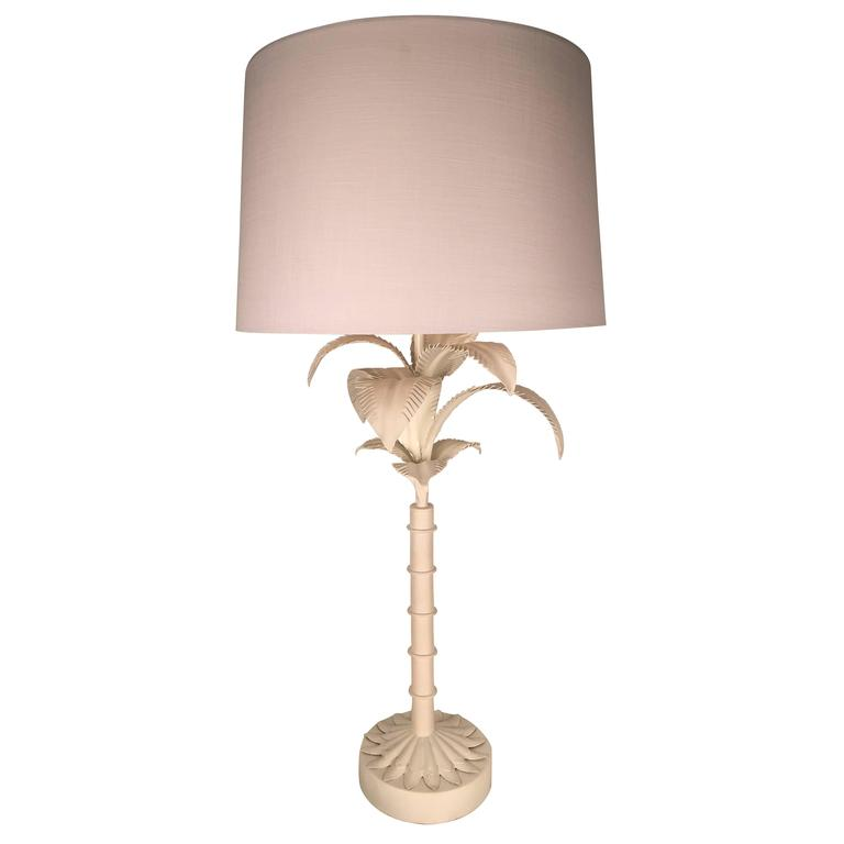 palm tree table lamp for sale at 1stdibs. Black Bedroom Furniture Sets. Home Design Ideas