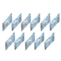 Fantastic Set of 7 Mazzega Wall Sconces
