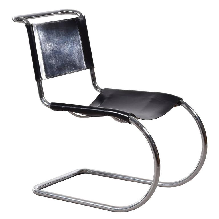 mies van der rohe mr10 cantilever chair for thonet for sale at 1stdibs. Black Bedroom Furniture Sets. Home Design Ideas