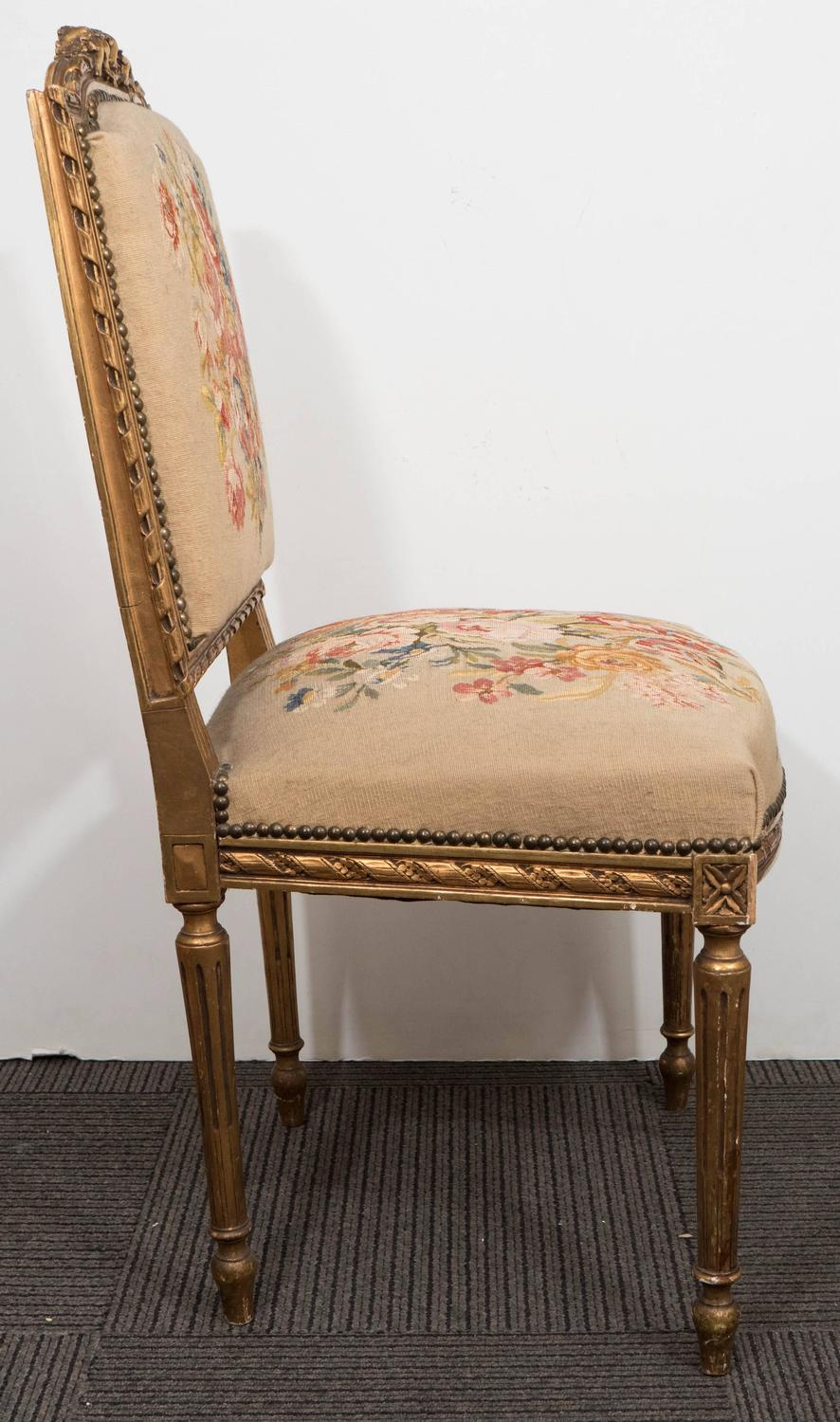 Set Of Eight Louis XVI Style Dining Chairs For Sale At 1stdibs
