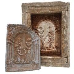 19th Century Italian Gothic Mold To Make Shrines