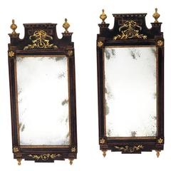 Pair of Danish Mirrors circa 1790 Ex Tony Hail