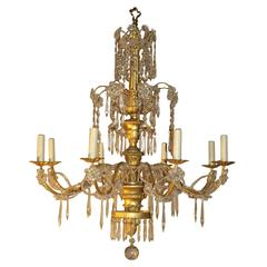 Antique Chandelier. Genovese Chandelier