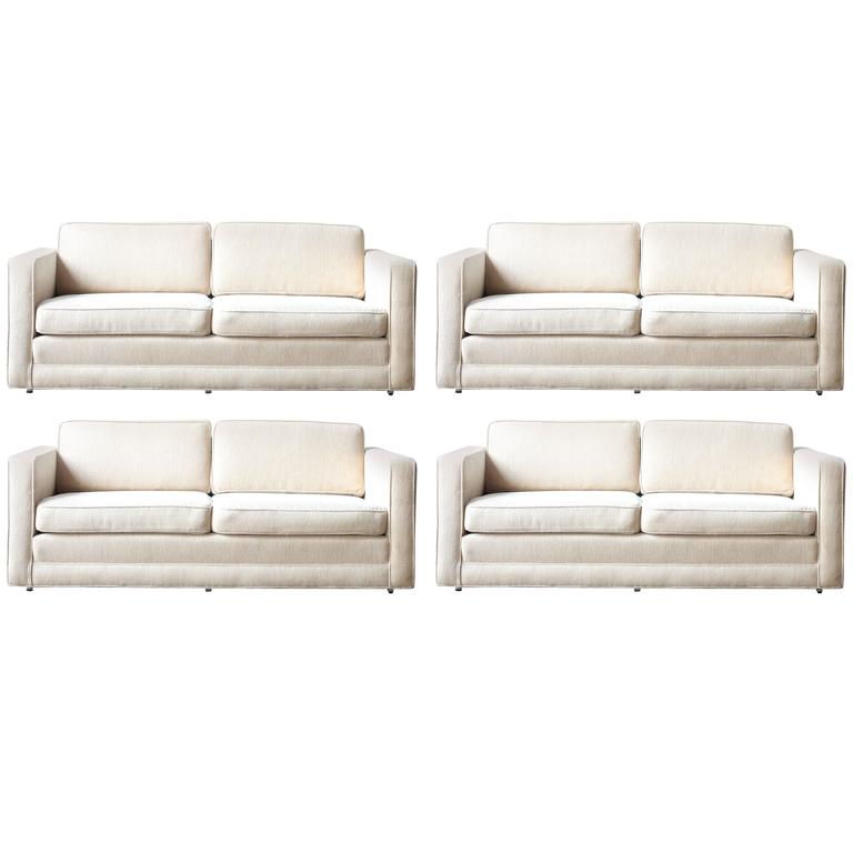 Knoll Sofas By Charles Pfister For Knoll International