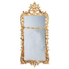 George II Antique Giltwood Pier Mirror