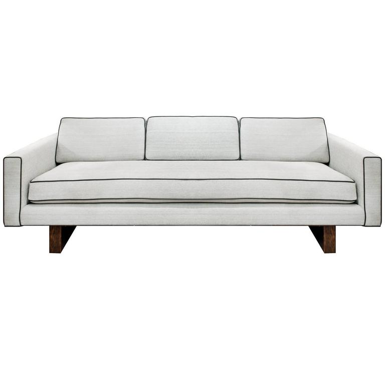 Clean Line Sofa No 1573 By Harvey Probber For