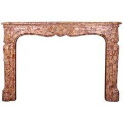 Louis XV Chimneypiece Fireplace Mantel
