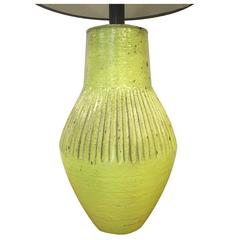 Italian Ceramic Lamp by Raymor