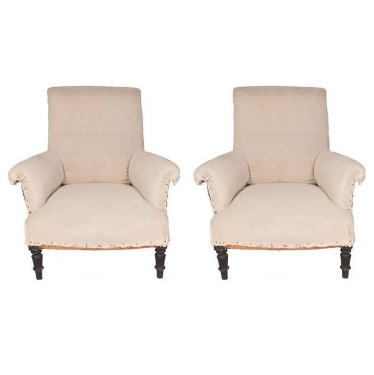 Pair Of Napoleon III Chairs, C.