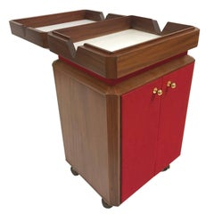 Mid-Century Modern Liquor Cabinet / Bar Cart