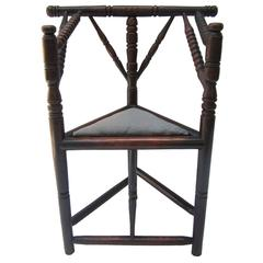 Primitive Corner Chair