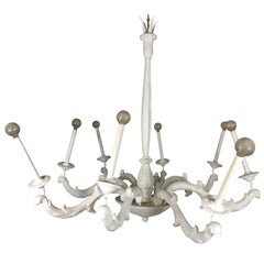 Fabulous Large-Scale Serge Roche Chandelier