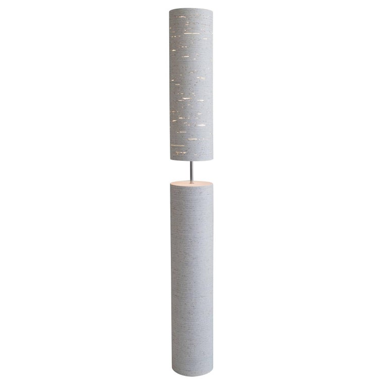 Buoy Floor Lamp in White by May Furniture