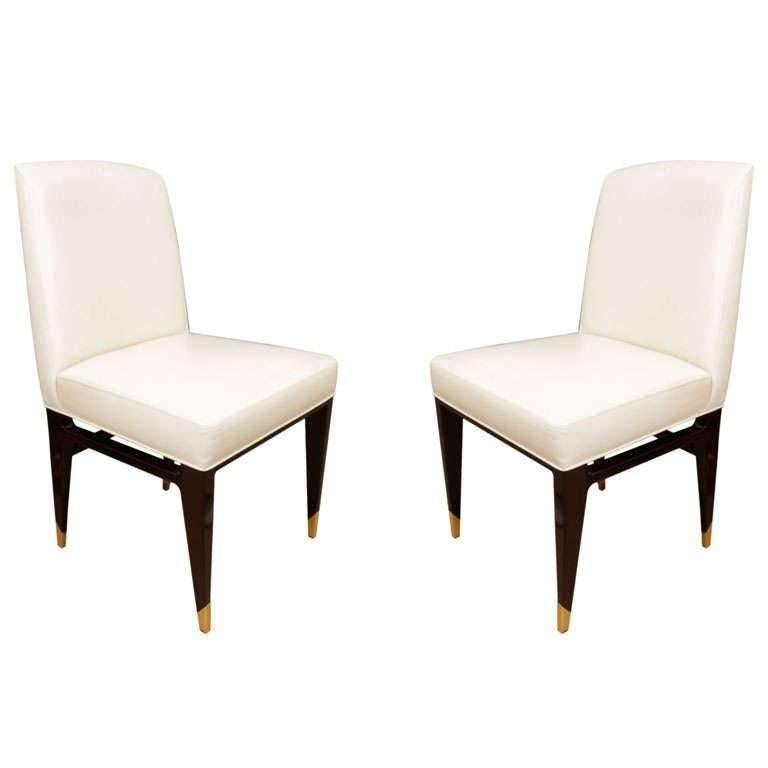 Set of 12 Chairs by Raphael Raffel For Sale