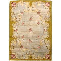 Vintage Spanish Savonnerie Style Rug