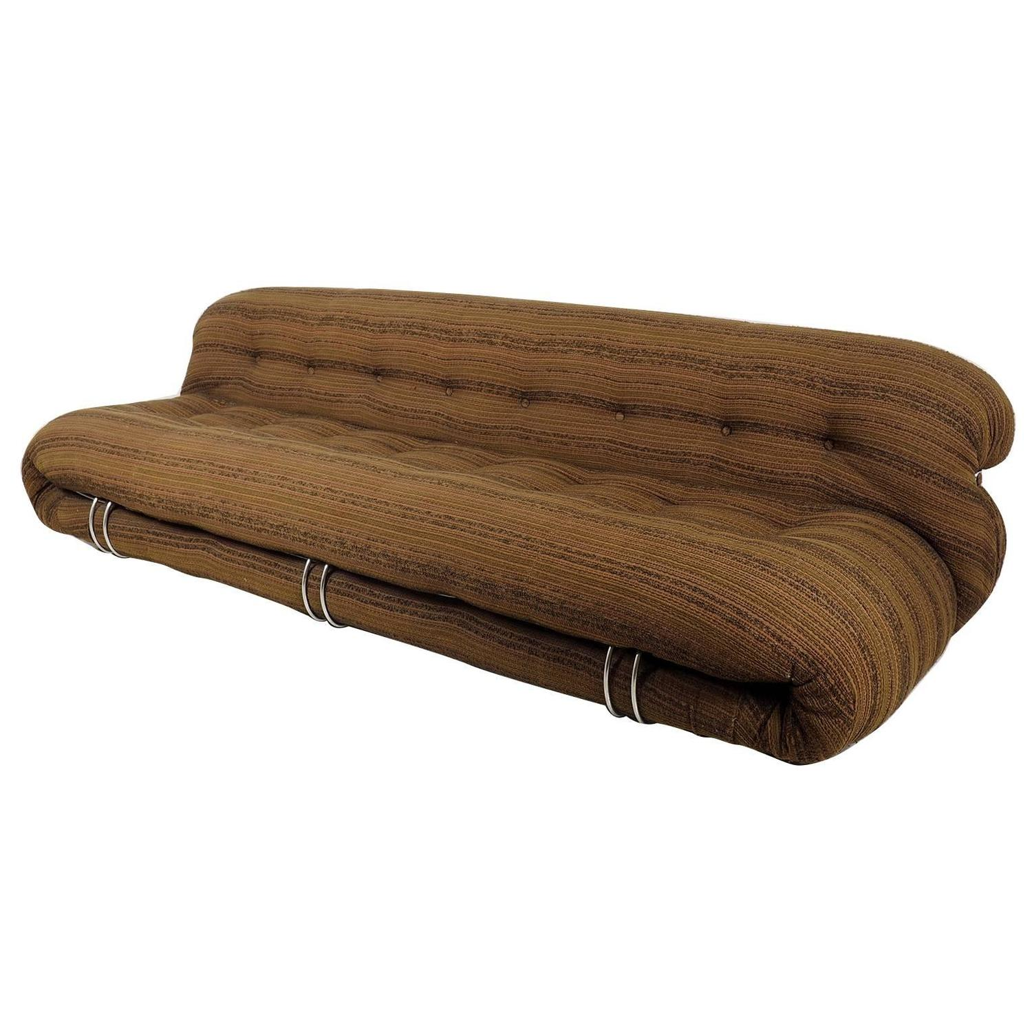 "Soriana"" Sofa by Tobia Scarpa for Cassina Milano 1969 For Sale"