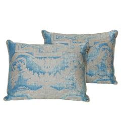 Pair of Vintage Fortuny Cushions
