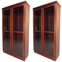 Rosewood Display Cabinet by Skovby