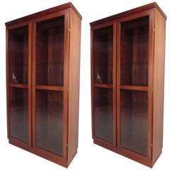 Rosewood Display Cabinet by Skovby