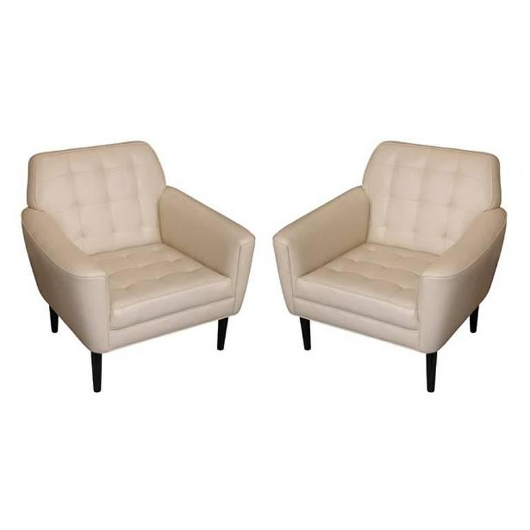 Club Chair, Reproduction, Offered by Area ID