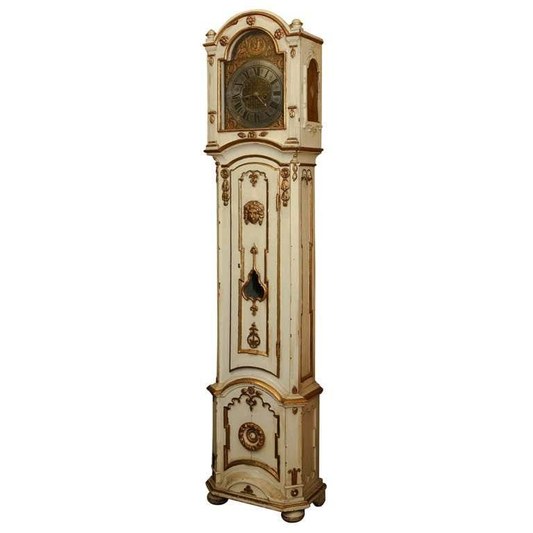 18th Century Danish Longcase Clock