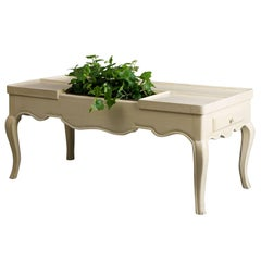 Jansen Coffee Table with Planter