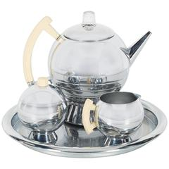 Art Deco Machine Age Coffee Service Set by Chase