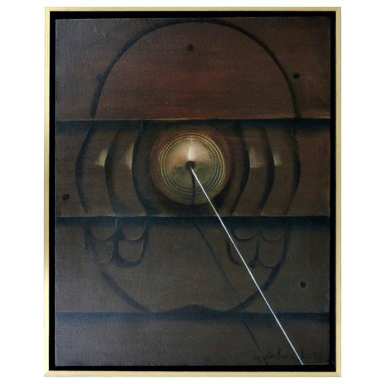 Oil Painting by Cuban-American Artist Agustin Fernandez