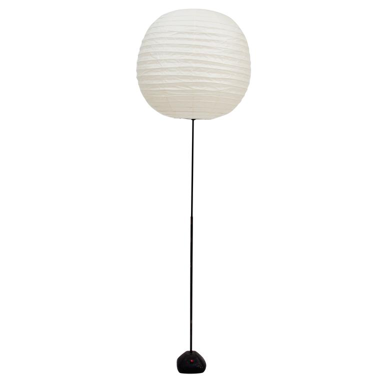 important isamu noguchi akari floor lamp for sale at 1stdibs. Black Bedroom Furniture Sets. Home Design Ideas