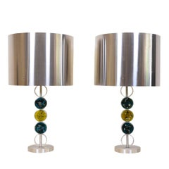 Extra Large 1970s Table Lamps by RAAK Amsterdam, Netherlands